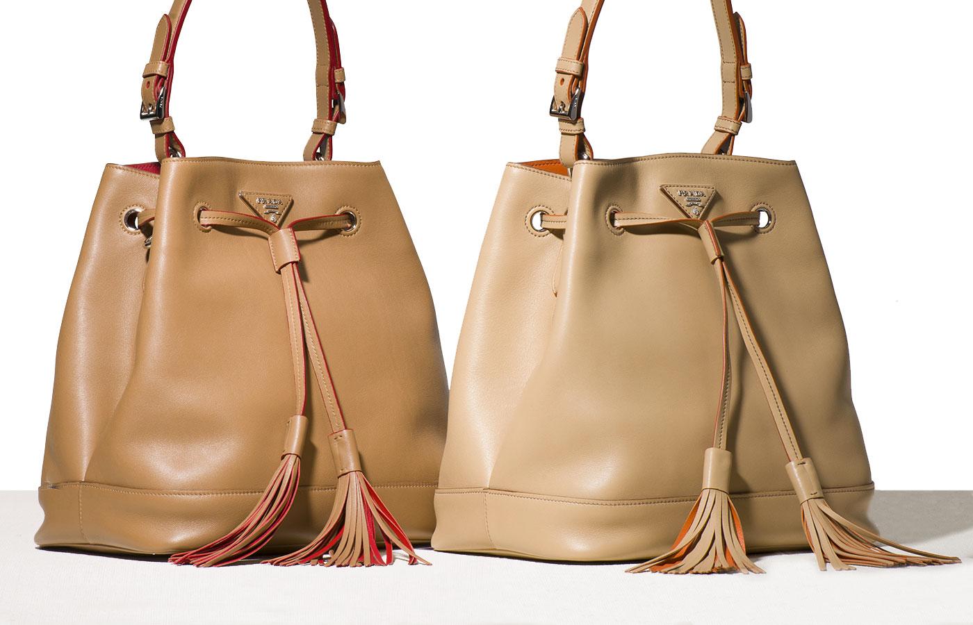 prada luggage bag - fringe prada bag
