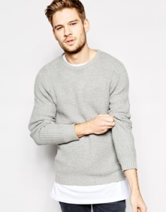 Asos Selected Textured Knitted Jumper $85.28 plus 30% OFF